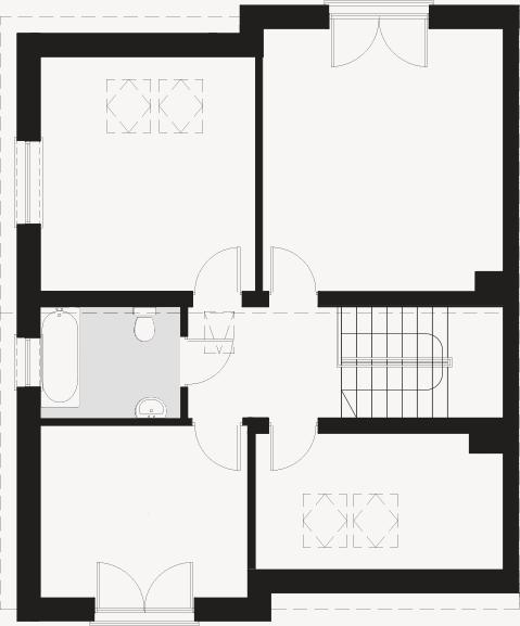 Osiedle Bałtycka - Plan piętra